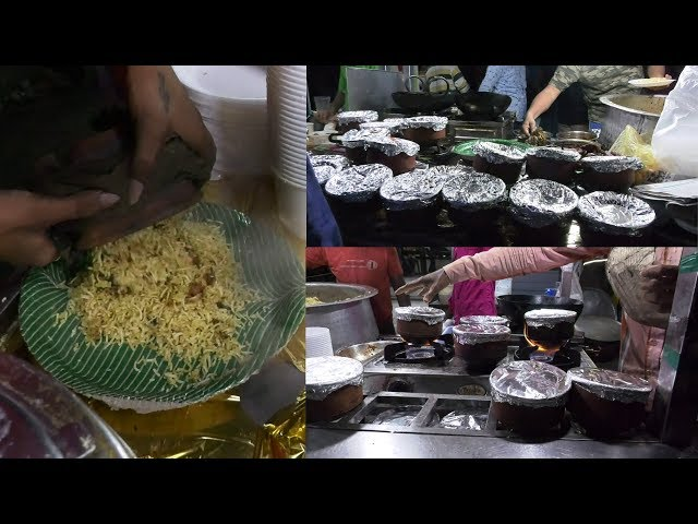Food Street Pot Biryani | Famous In VijayaWada | Pot Biryani |