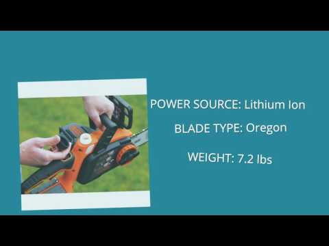 Black & Decker LCS1020 Lithium Ion Chainsaw