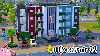 RETO de CONSTRUCCIÓN 🏗 MINI APARTAMENTOS 🏢 A CONSTRUIR 22 🐰 Los Sims 4