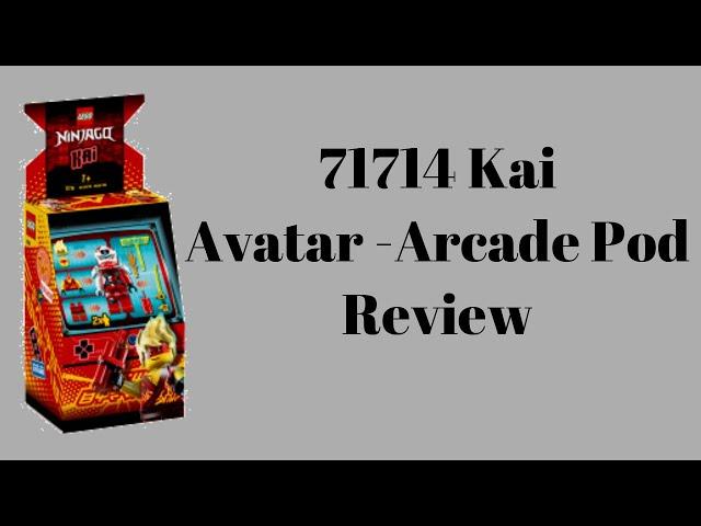 71714 Kai Avatar - Arcade Pod Review | Steinfreund2014