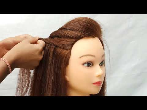 Quick & Beautiful collage\party\work\out going hairstyles || Easy hairstyles || Unique hairstyles thumbnail