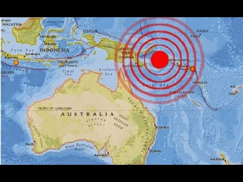 7.6 EQ New Guinea*Beast From The East*Multiple Active Volcanoes*