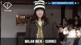 Sunnei Milan Men Fashion Week Fall/Winter 2018-19 Time For Change Collection | FashionTV | FTV