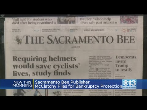 McClatchy, Publisher Of The Sacramento Bee And Other Newspapers, Files For Bankruptcy Protection