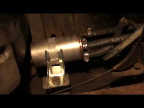 1988 Dodge Dakota 39L V6 4X4 Fuel Filter Location (Please Consider