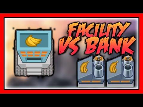 BTD Battles - Facility vs Bank! Banana Farm Experiment
