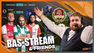 BAS-STREAM & FRIENDS | Op naar Elite?! |  WL met Bas van Velzen | eDivisie 2019-2020 I FIFA20