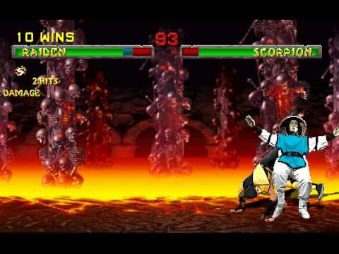 Mortal Kombat 2 Mugen: Raiden Playthrough