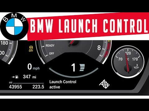 LAUNCH CONTROL in BMW 330d - How to activate - tutorial 🚗