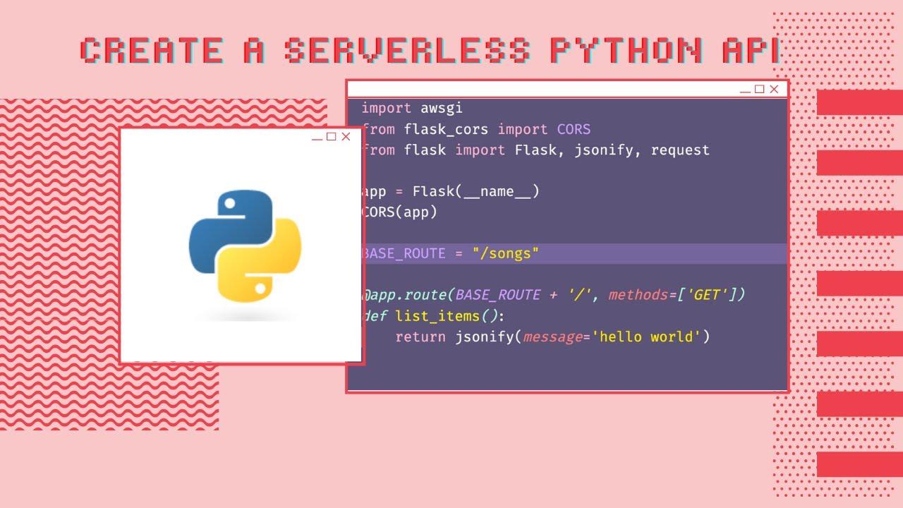 Create a Serverless Python API with AWS Amplify and Flask