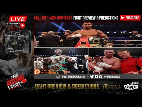 Deontay Wilder ON-AIR: NO to Being Ringside & Joshua Ordered EXTRA SECURITY Because of ME👀😱