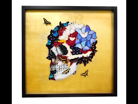SN's PROFILE SKULL – GOLD Artwork