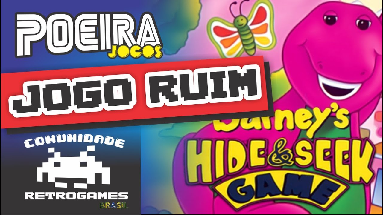 Barney's Hide and Seek (Mega Drive) Jogo ruim do caramba - Poeira ...
