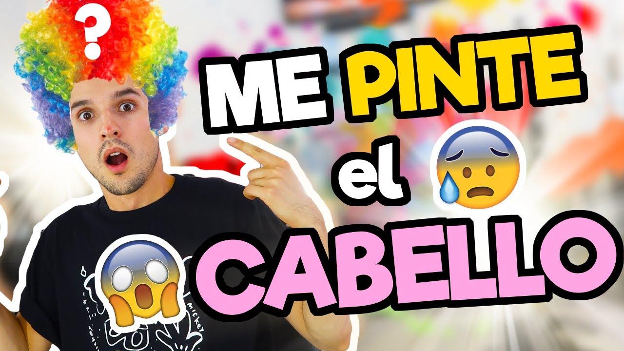 ME PINTE EL PELO!!! MI NOVIA NO SABÍA!!! / Memo Aponte