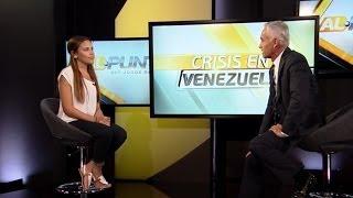 La joven venezolana que enseño al mundo lo que ocurre en Venezuela habló con Jorge Ramos