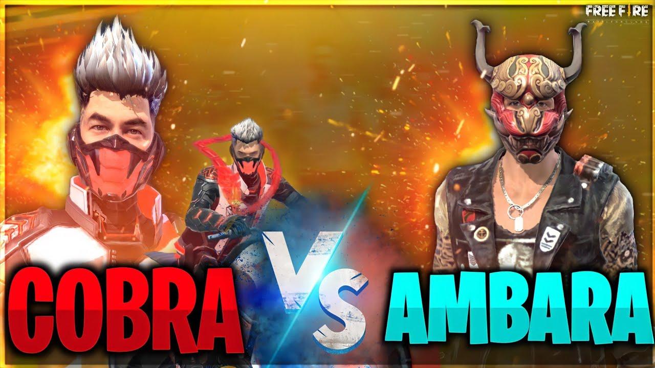 who will win ?? Cobra VS Ambara ||  free fire short film in Tamil || full of action & suspect || k2b