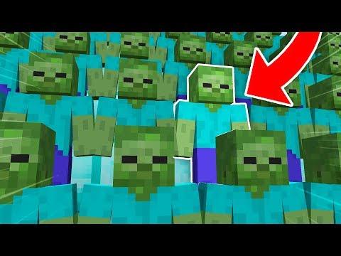 HANGİSİ GERÇEK ZOMBİ? (Minecraft)