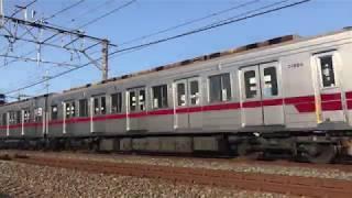 【鉄道動画】武里~一ノ割にて 東武20050系通過シーン
