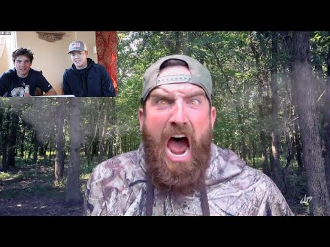 REACTING to DUDE PERFECT'S 'Hunting Stereotypes'