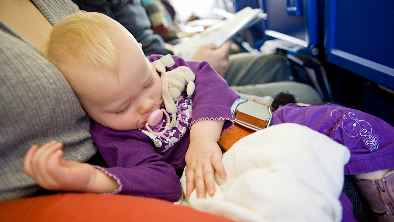 Safety Tips For Flying W Baby In Lap Baby Travel Youtube