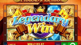 "Pharao's Riches slot ""Legendary Win"" - Gamomat"