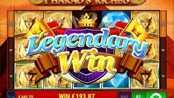 "Pharao's Riches slot ""Legendary Win"" - Gamomat"