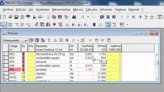 TUTORIAL BASICO PRESTO 8.8 HD (PABLO ROJAS ORTEGA)