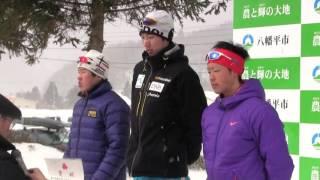 待望の雪!中学・高校スキー大会