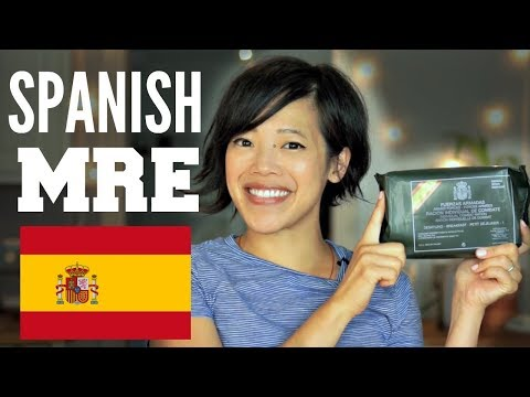 Spanish MRE Breakfast- Individual Combat Ration | SPAIN