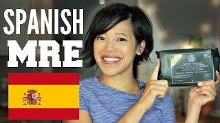 Spanish MRE Breakfast- Individual Combat Ration | SPAIN