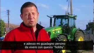 EAFRD project postcard: Agricultural Machinery - Italian subtitles