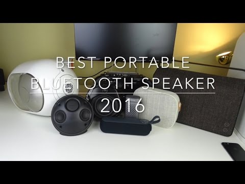 BEST portable bluetooth SPEAKER of 2016