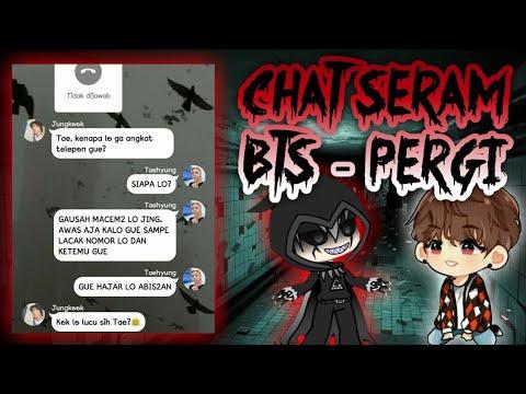 CHAT SERAM BTS - Janji | Chat Horor Indonesia Terseram