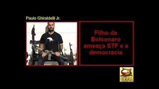Filho de Bolsonaro põe STF na mira. Bolsonaro quer internar o filho?