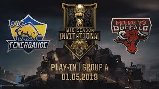 FB vs PVB [MSI 2019][01.05.2019][Group A][Play-in]