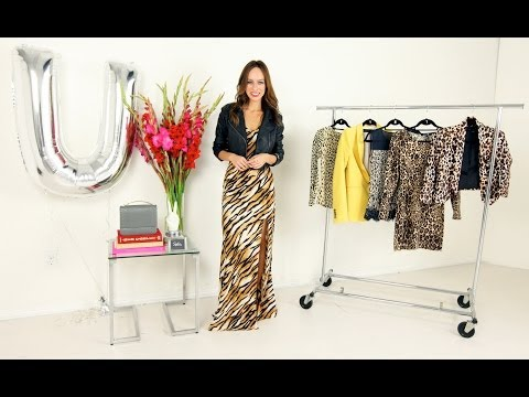 How to Wear the Unleashed (aka animal print) Trend: A-Z Trend Guide Fall/Winter 2013