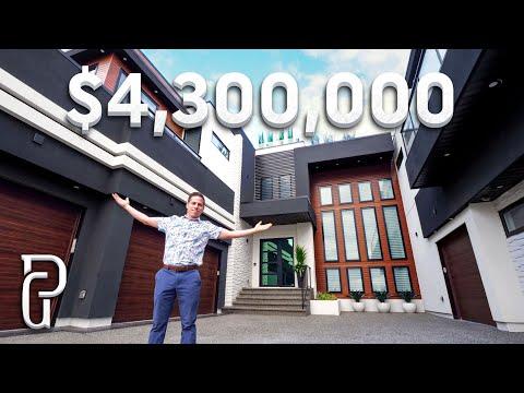 Spectacular $4.3 Million Dollar Modern Mansion Tour!
