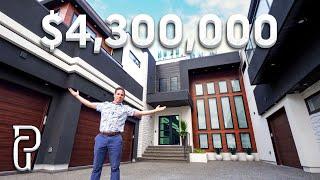 Spectacular $4.3 Million Dollar Modern Home Tour!