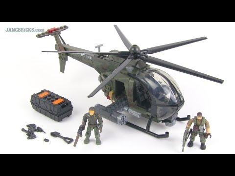 Mega Bloks Call Of Duty Chopper Strike Set Review Youtube