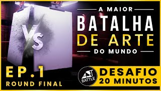 Art Battle - Desafio 20 minutos | Ep. 1 (Parte 2)