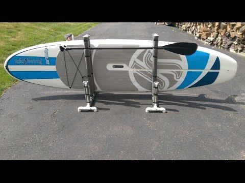Paddle Board Rack >> Paddle Board Rack Diy Youtube