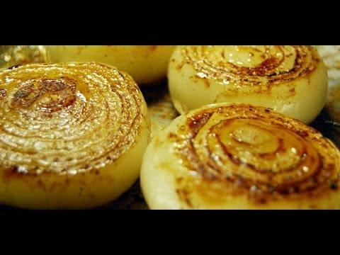 Jan Charles Cooks Roasted Onions, Roasted Onions Recipe, How to Make Roast Onions