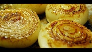 Jan Charles Cooks Roasted Onions, Roasted Onions Recipe, How To Make Roast Onions