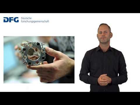 Gebärdensprache: Die Deutsche Forschungsgemeinschaft (DFG) stellt sich vor