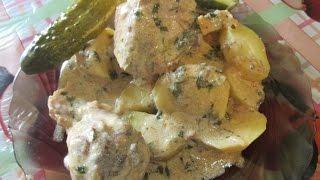 Курица по узбекскому рецепту.  Гульчехра. Это действительно вкусно. // Олег Карп