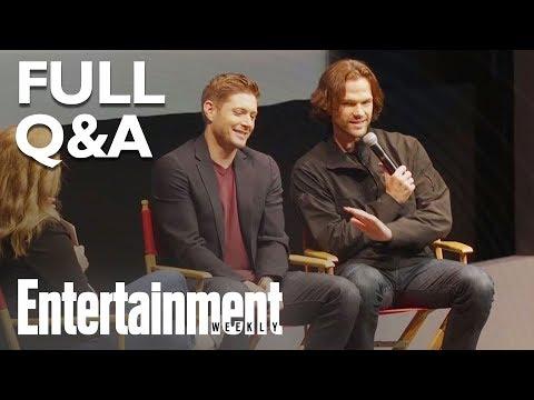 Supernaturals Jensen Ackles & Jared Padalecki Answer Season 14 Q&A (FULL) | Entertainment Weekly