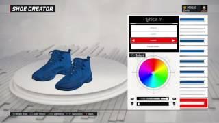 nba 2k17 shoe creator air jordan 12 deep royal blue