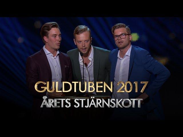 Årets Stjärnskott I Guldtuben 2017