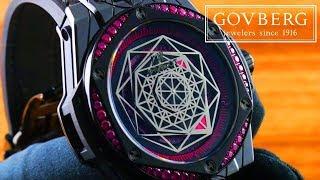Hublot Big Bang One Click Sang Bleu All Black Pink (465.CS.1119.VR.1233.MXM18) Luxury Watch Review