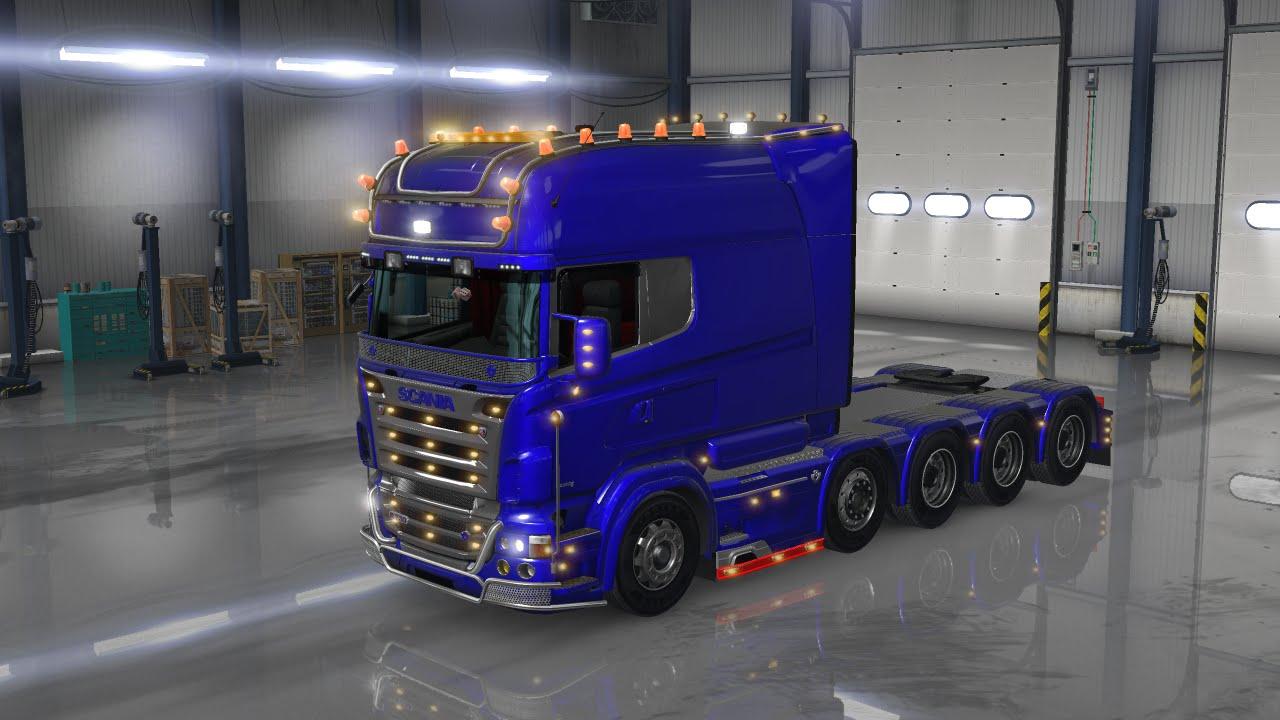 american truck simulator mod scania youtube. Black Bedroom Furniture Sets. Home Design Ideas